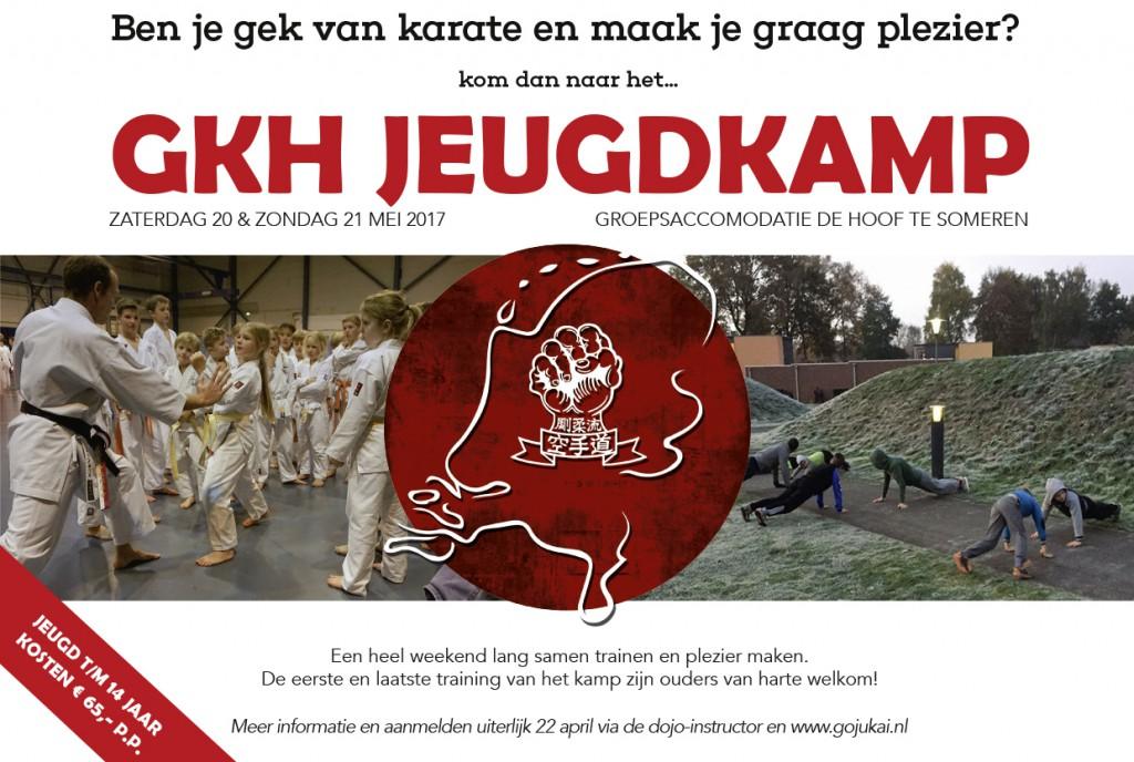 GKH Jeugdkamp 2017 - Flyer